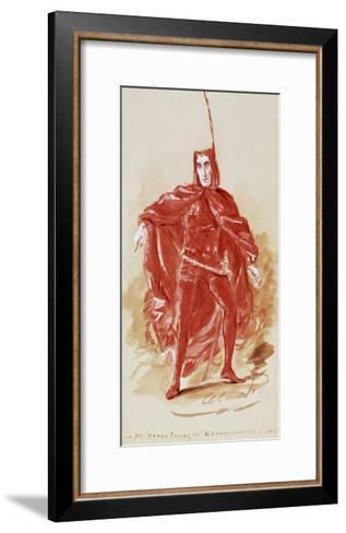 Henry Irving--Framed Art Print