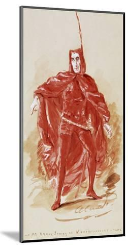 Henry Irving--Mounted Giclee Print