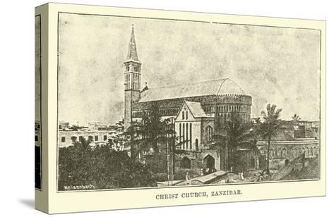 Christ Church, Zanzibar--Stretched Canvas Print