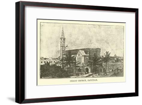 Christ Church, Zanzibar--Framed Art Print