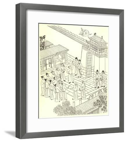 The Miracle of the Elephant--Framed Art Print