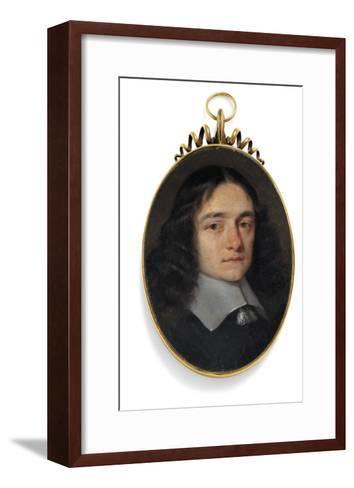 A Gentleman Formerly Called John Milton-William Dobson-Framed Art Print