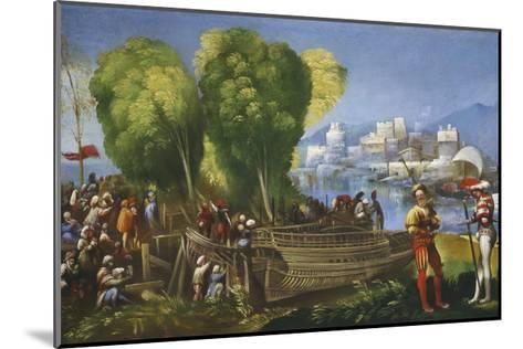 Aeneas and Achates on the Libyan Coast, C.1520-Dosso Dossi-Mounted Giclee Print
