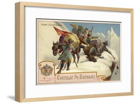 Mountain Postal Service--Framed Art Print