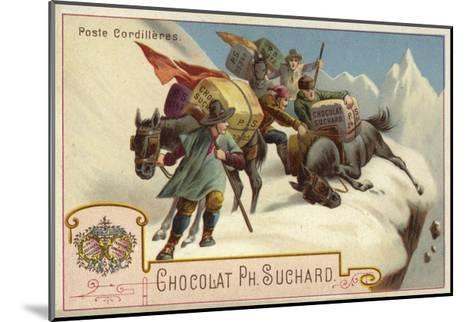 Mountain Postal Service--Mounted Giclee Print
