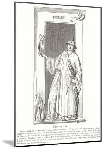 Infidelity--Mounted Giclee Print