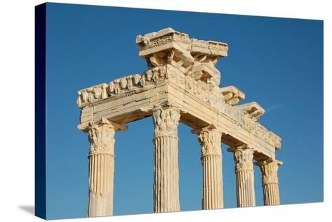 The Temple of Apollo, Side, Turkey--Stretched Canvas Print