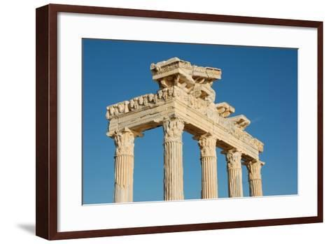 The Temple of Apollo, Side, Turkey--Framed Art Print
