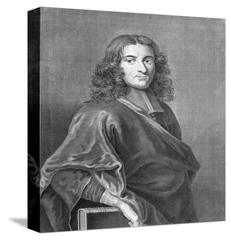Portrait of Pierre Bayle--Stretched Canvas Print