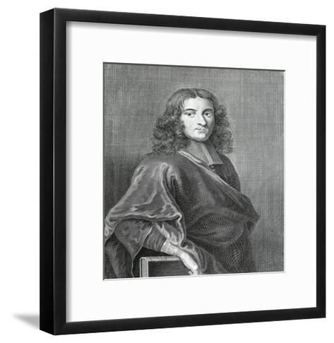 Portrait of Pierre Bayle--Framed Art Print