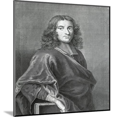 Portrait of Pierre Bayle--Mounted Giclee Print