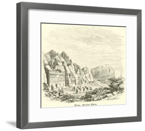 Petra, Ancient Edom--Framed Art Print