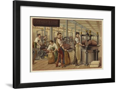 Chocolate Manufacturing--Framed Art Print