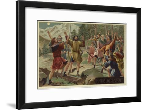 Scene from William Tell--Framed Art Print