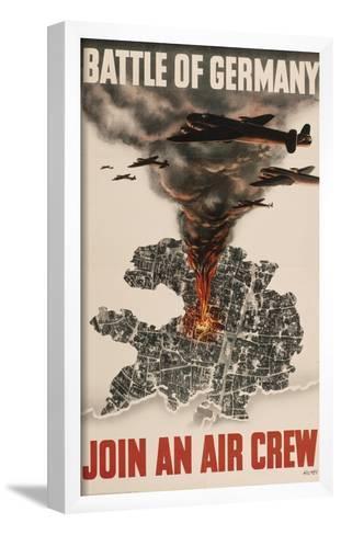 English Second World War Poster--Framed Art Print