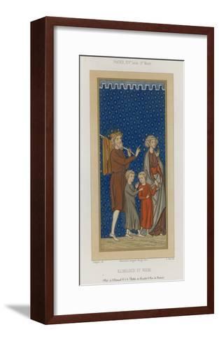 Elimelech and Naomi--Framed Art Print
