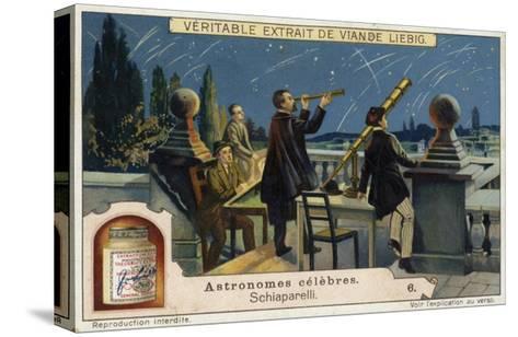 Giovanni Schiaparelli, Italian Astronomer--Stretched Canvas Print