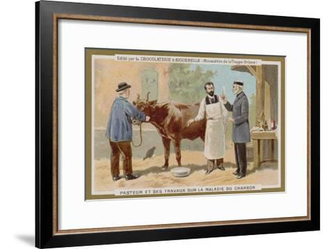 Chocolat D'Aiguebelle Trade Card--Framed Art Print