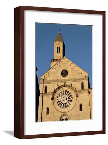 Italy, Puglia, Bari, Facade of Bari Cathedral--Framed Art Print