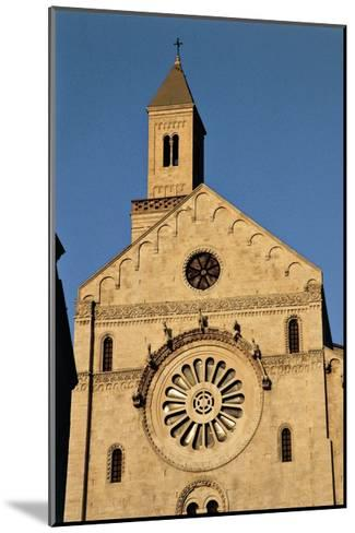 Italy, Puglia, Bari, Facade of Bari Cathedral--Mounted Giclee Print