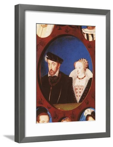 Portrait of Henry II of France--Framed Art Print