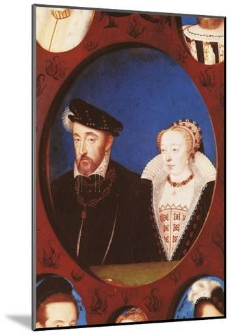 Portrait of Henry II of France--Mounted Giclee Print