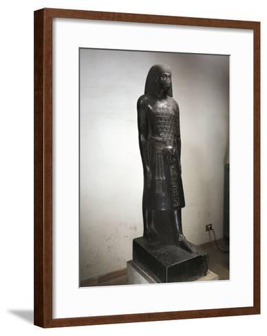 Statue of Anen--Framed Art Print
