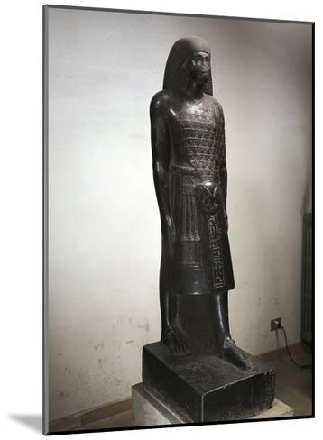 Statue of Anen--Mounted Giclee Print