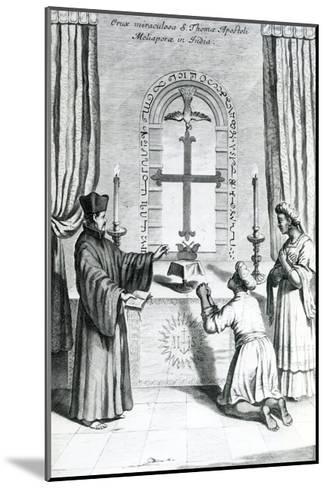 The Shrine of Saint Thomas at Meliapore, 1667-Athanasius Kircher-Mounted Giclee Print
