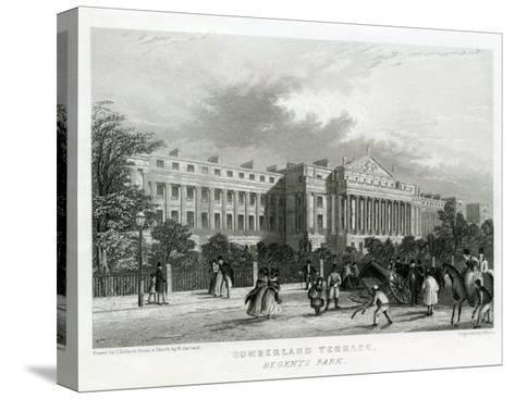 Cumberland Terrace, Regent's Park, London--Stretched Canvas Print