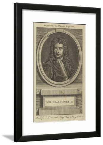 Sir Richard Steele--Framed Art Print