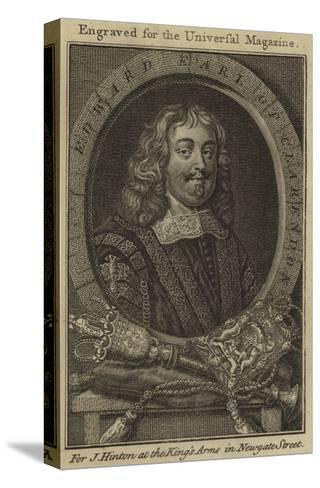 Edward, Earl of Clarendon--Stretched Canvas Print