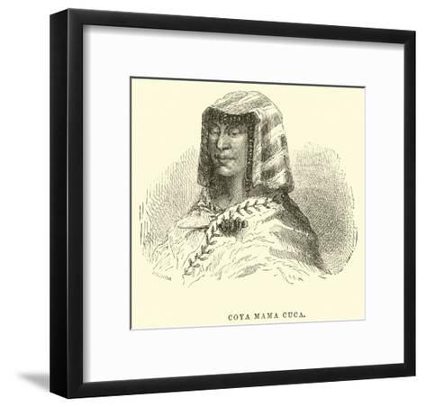 Coya Mama Cuca-?douard Riou-Framed Art Print