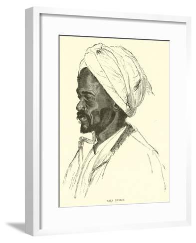 Male Nubian--Framed Art Print