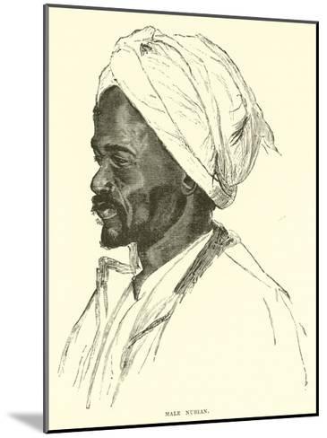 Male Nubian--Mounted Giclee Print