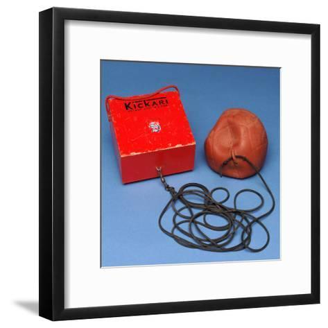 'Kickari' Football Game--Framed Art Print