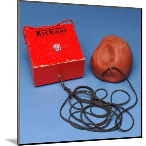 'Kickari' Football Game--Mounted Giclee Print