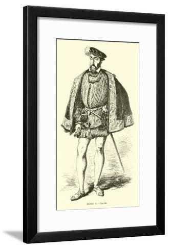 Henri II--Framed Art Print