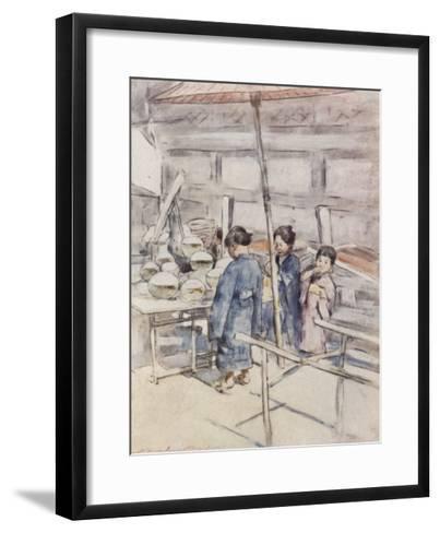 Goldfish-Mortimer Ludington Menpes-Framed Art Print