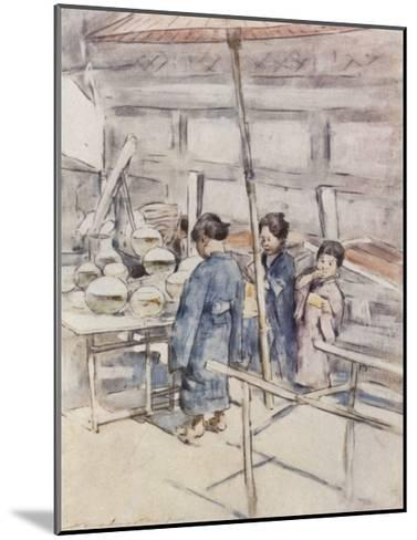 Goldfish-Mortimer Ludington Menpes-Mounted Giclee Print