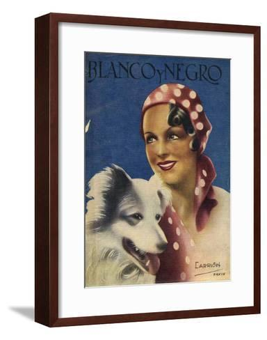Front Cover of 'Blanco Y Negro', 1934--Framed Art Print