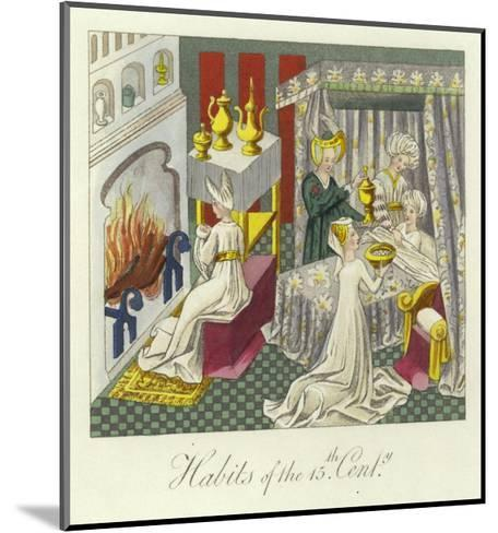 Habits of the 15th Century--Mounted Giclee Print