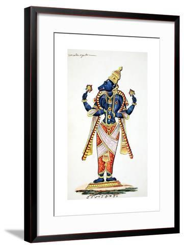Varaha, Boar Avatar of Vishnu--Framed Art Print
