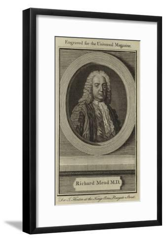 Richard Mead--Framed Art Print