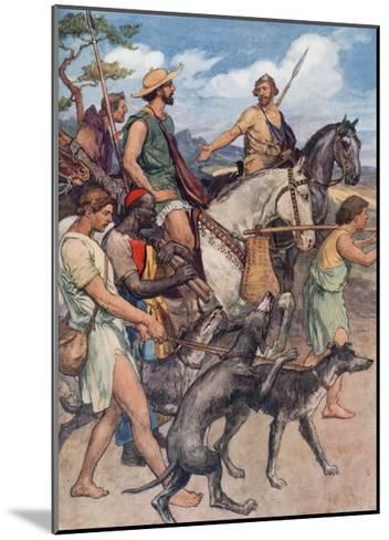 Pelopidas Setting Out for Thebes-William Rainey-Mounted Giclee Print
