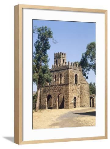The Chancellery of Yohannes, Fasil Ghebbi--Framed Art Print