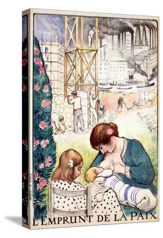 L'Emprunt De La Paix Pub. Paris C.1918-Henri Lebasque-Stretched Canvas Print