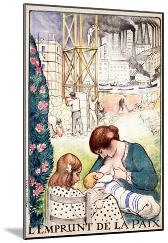 L'Emprunt De La Paix Pub. Paris C.1918-Henri Lebasque-Mounted Giclee Print