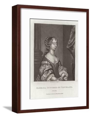Barbara, Duchess of Cleveland-Sir Peter Lely-Framed Art Print