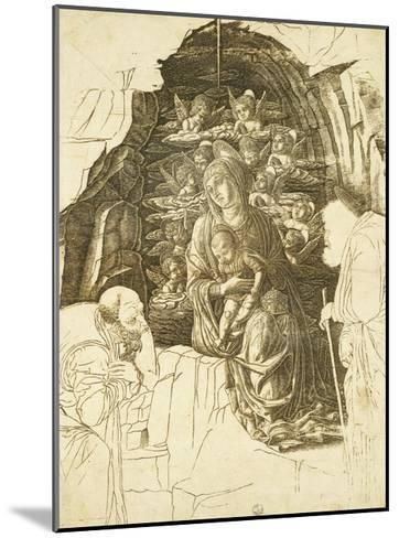 Study for Adoration of Magi-Andrea Mantegna-Mounted Giclee Print